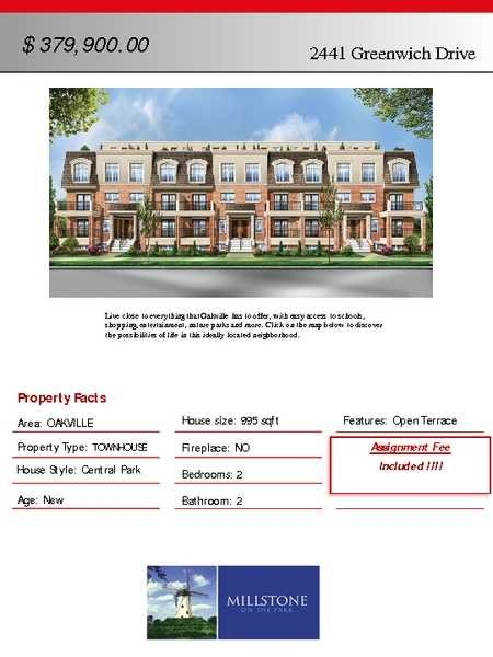 145 - 2441 Greenwhich Dr , Oakville,  sold, , Altaf Mian, HomeLife/Miracle Realty Ltd., Brokerage *